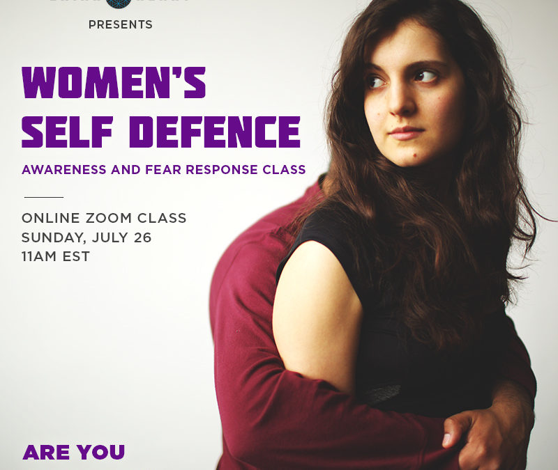 Women's Self Defence: Awareness and Fear Response Class